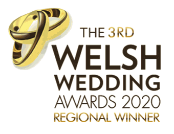 Regional winner in the 3rd Welsh Wedding Awards 2020
